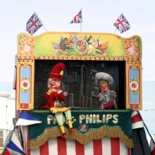 Philip Dann's Punch & Judy show from Norfolk